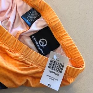 Hot Topic Pants - Overwatch Tracer Cosplay Leggings